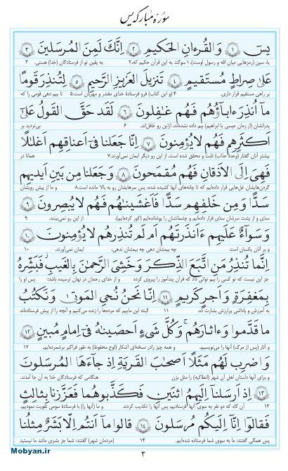 مفاتیح مرکز طبع و نشر قرآن کریم صفحه 3
