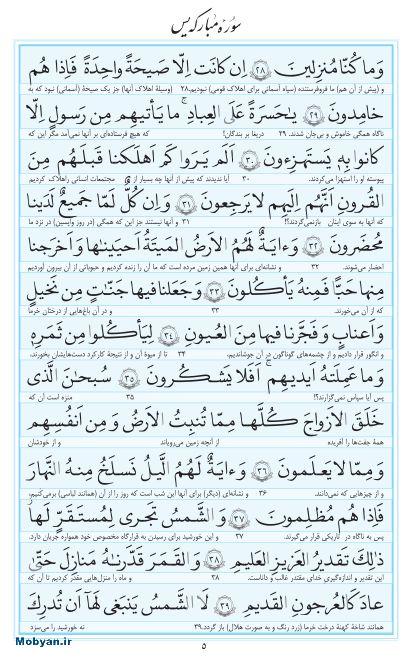 مفاتیح مرکز طبع و نشر قرآن کریم صفحه 5
