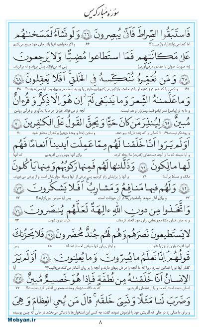 مفاتیح مرکز طبع و نشر قرآن کریم صفحه 8