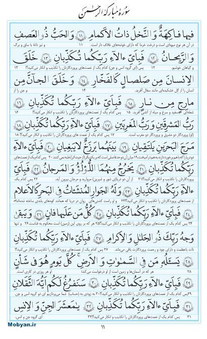 مفاتیح مرکز طبع و نشر قرآن کریم صفحه 11