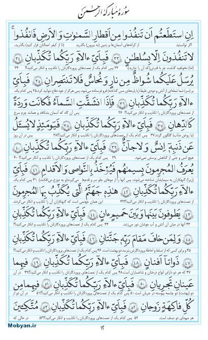 مفاتیح مرکز طبع و نشر قرآن کریم صفحه 12