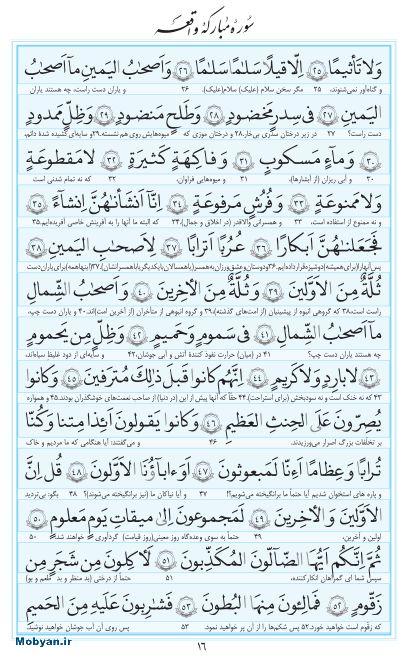 مفاتیح مرکز طبع و نشر قرآن کریم صفحه 16