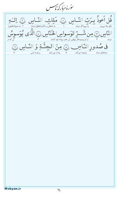 مفاتیح مرکز طبع و نشر قرآن کریم صفحه 34